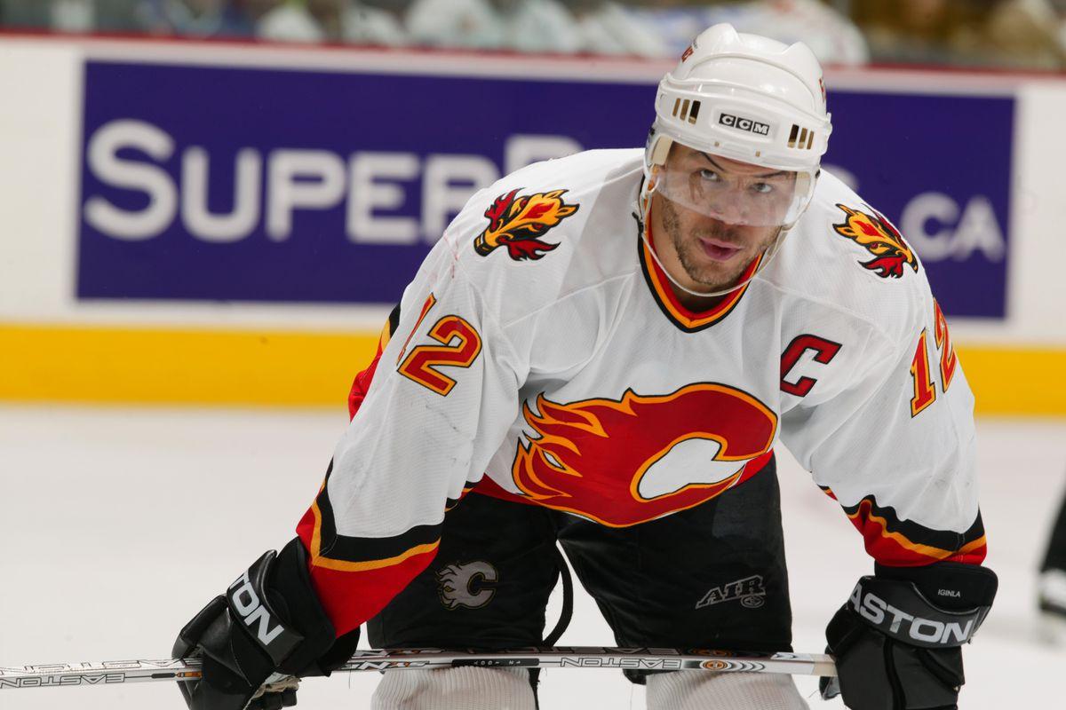 Flames V Canucks