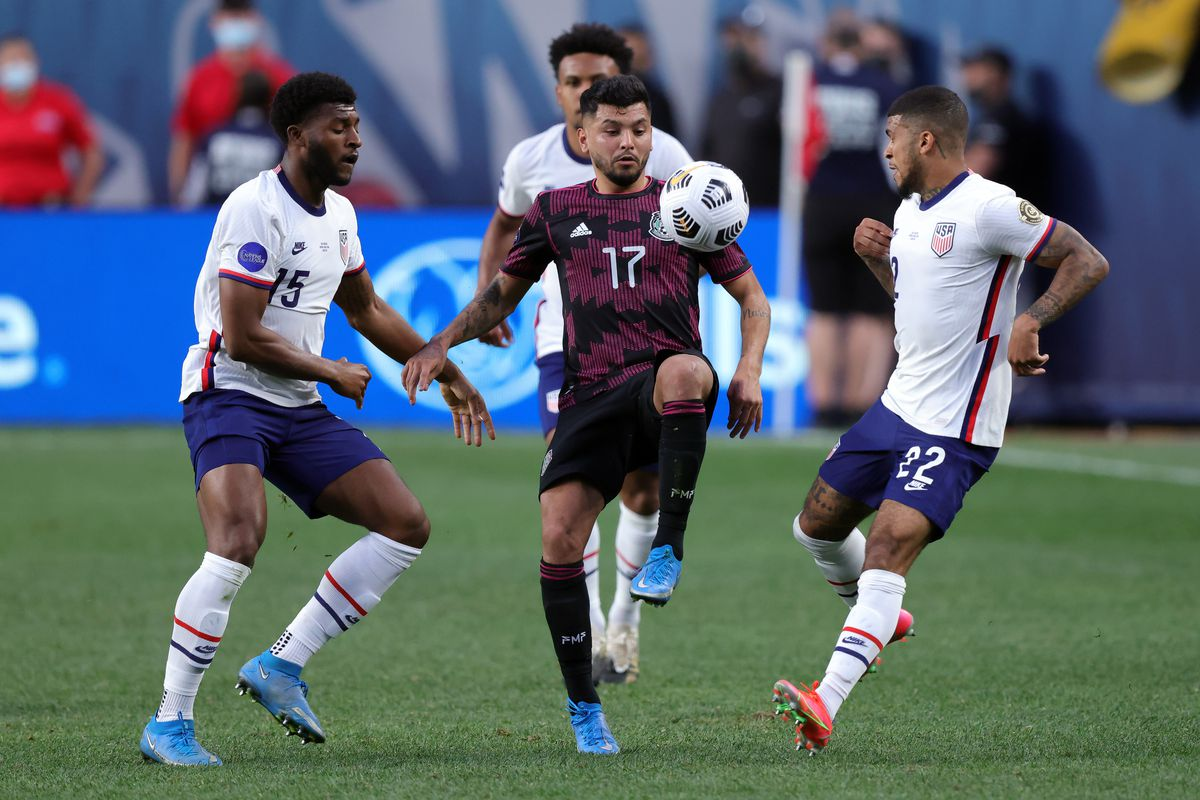 SOCCER: JUN 06 Concacaf Nations League Final - Mexico v United States