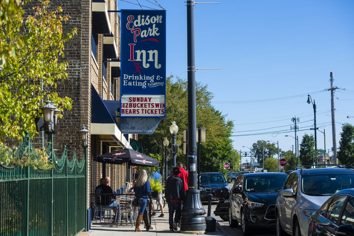 Edison Park is a charming, friendly neighborhood on Chicago's northwest side. | Tyler LaRiviere/Sun-Time
