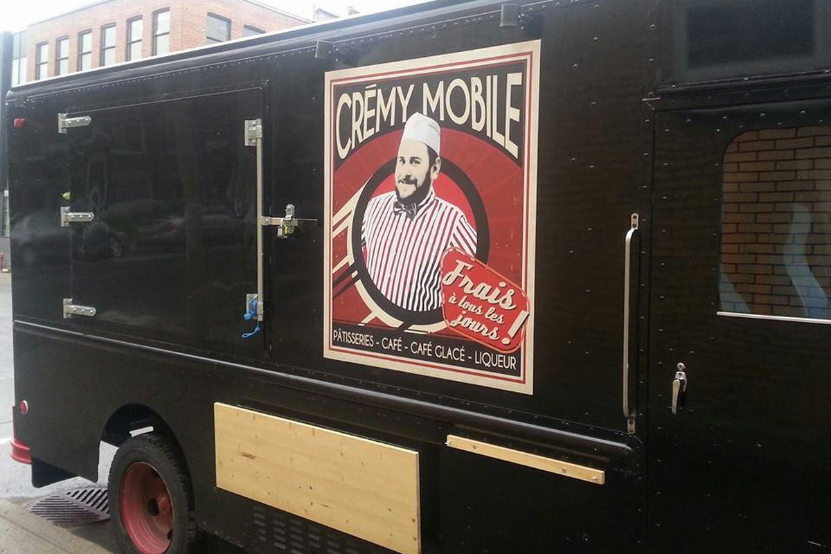 The CRémy Pâtisserie truck