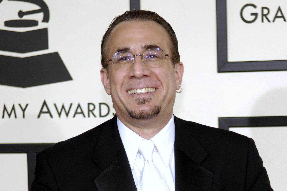 FILE - In this Feb. 10, 2008 file photo, jazz musician Bobby Sanabria arrives at the 50th Annual Grammy Awards in Los Angeles. A lawsuit filed against the Recording Academy over its decision to trim the Grammy categories from 109 to 78 has been dismissed