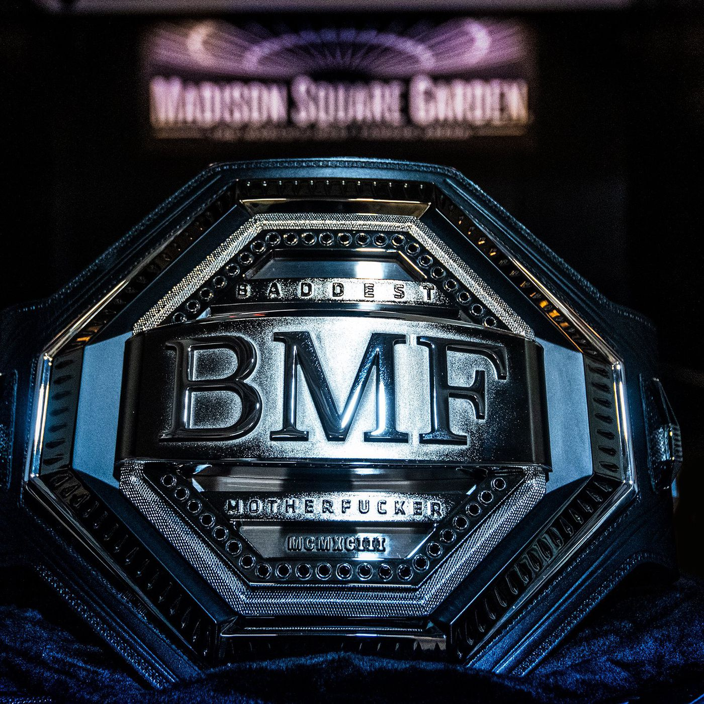 Pic Bmf Belt Revealed For Ufc 244 Main Event Conor