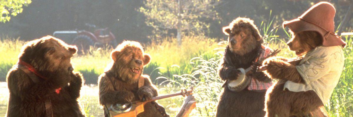 the country bears vibing