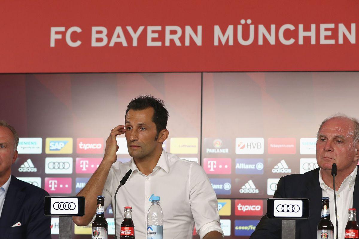 Image result for bayern press conference uli