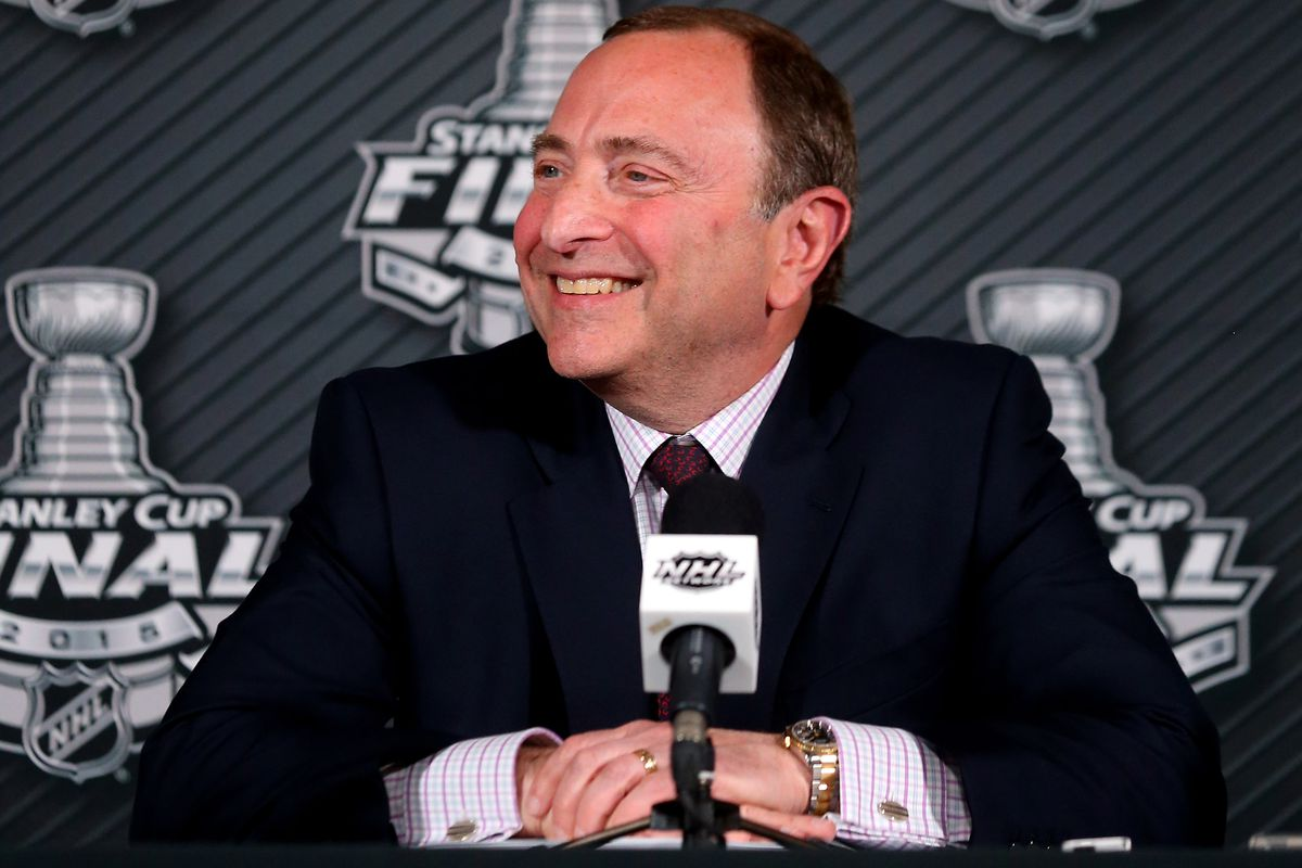 Would Gary Bettman smile about the $71.4 million cap?  Well, a decreasing cap would make him frown, so yes.