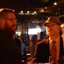 Chappapeela Farms Brewery's Tom Conklin and Jester King founder Ron Extract