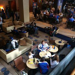 A Cubbie Blue Lobby!