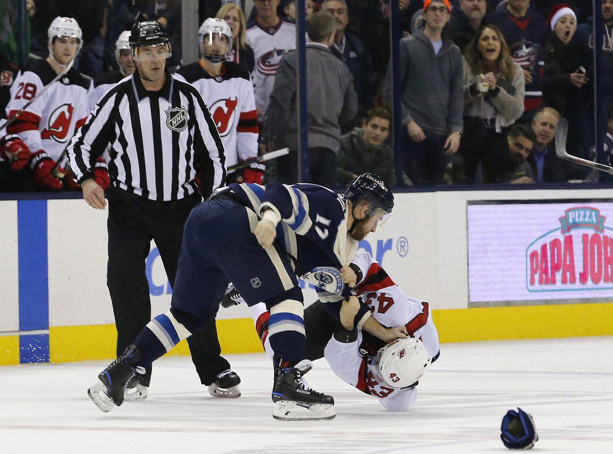NHL: New Jersey Devils at Columbus Blue Jackets