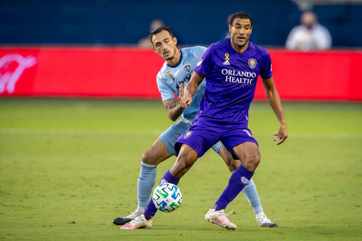 SOCCER: SEP 23 MLS - Orlando City FC at Sporting Kansas City