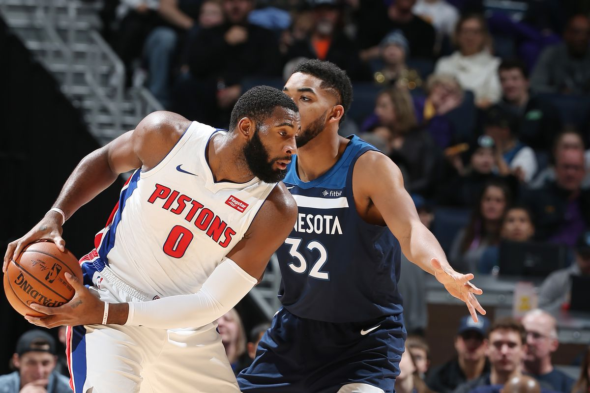 Pistons Vs Timberwolves Preview Karl Anthony Towns Is Really Good