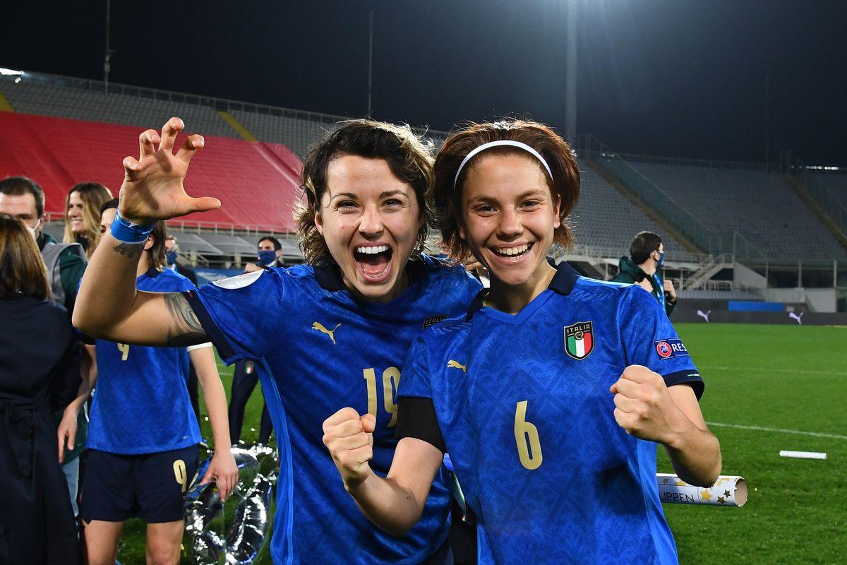 Italy v Israel - UEFA Women's EURO 2022 Qualifier