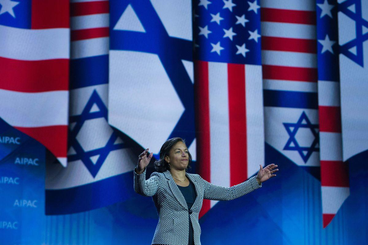 Susan Rice speaks at AIPAC in Washington