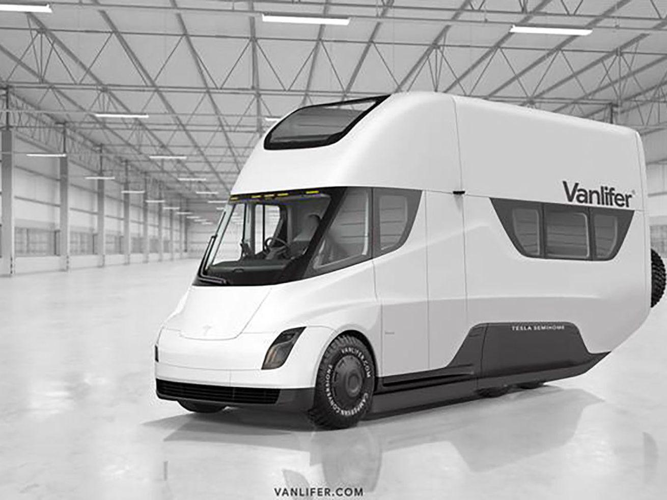 Tesla?s Semi truck reimagined as a luxury RV