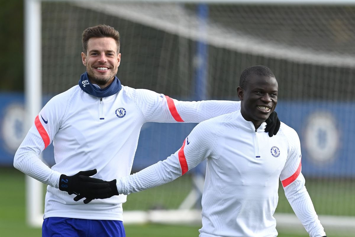 Chelsea FC - Press Conference And Training Session