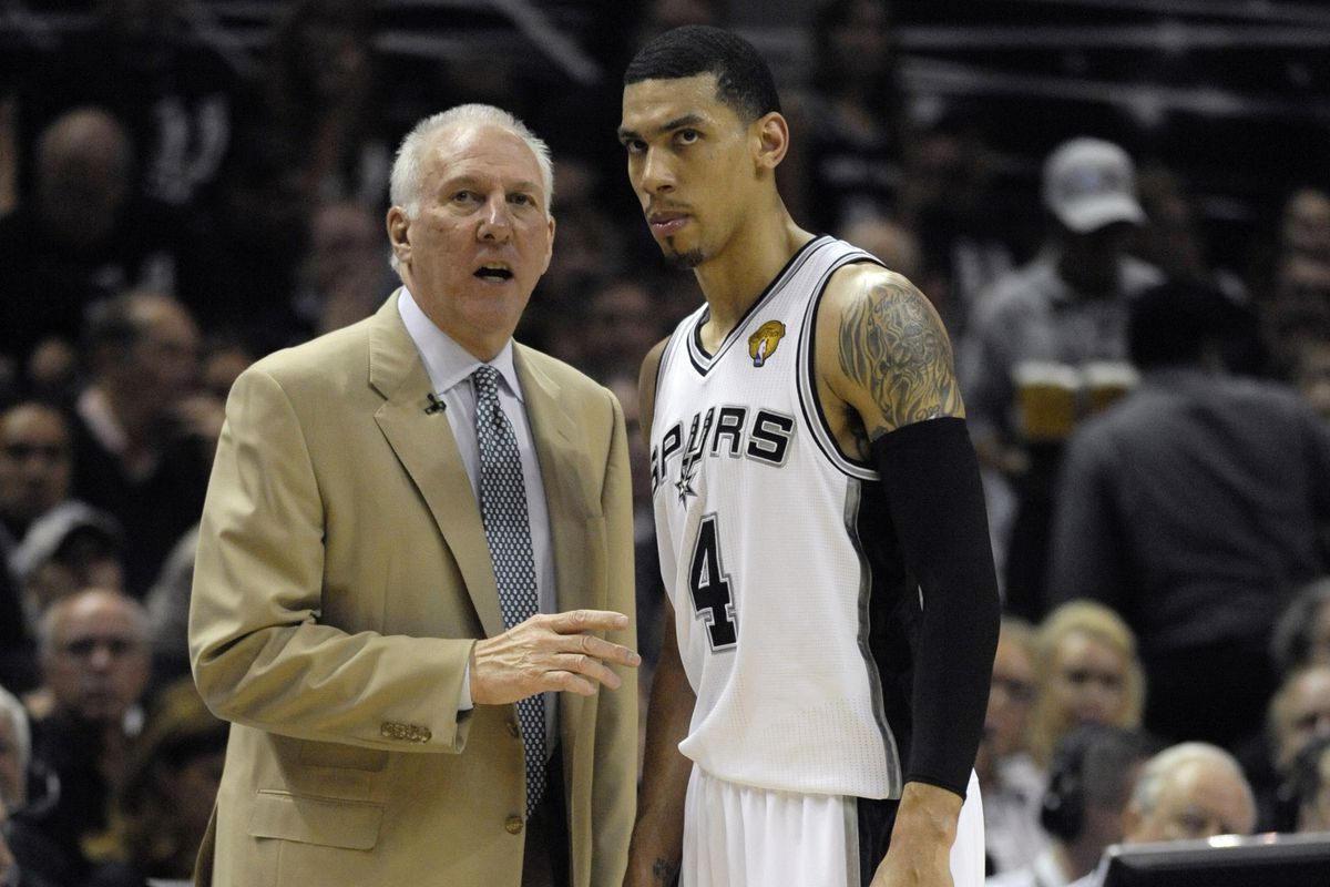 Gregg Popovich will try to win his fifth ring tonight along with Danny Green, who is...the man!
