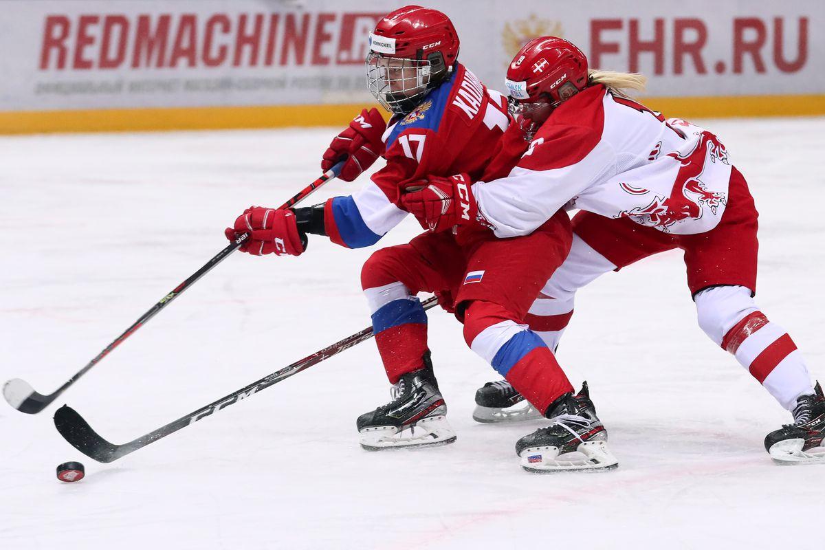 Women's Euro Hockey Tour, Six Nations tournament: Russia vs Denmark