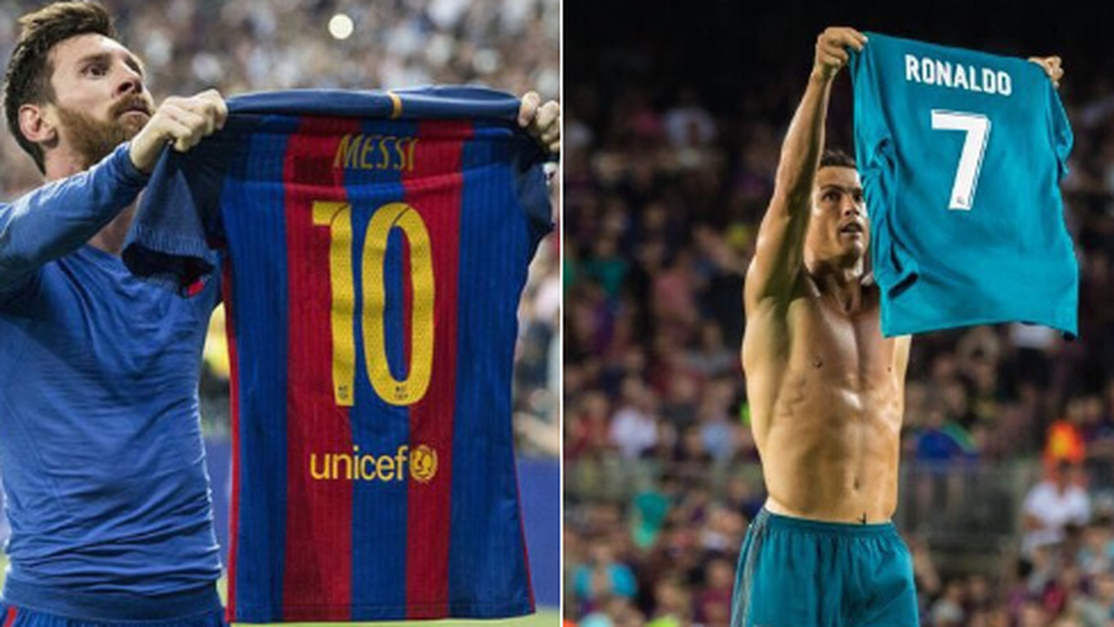 Cristiano celebration Ronaldo  shirt Lionel mocked Messi