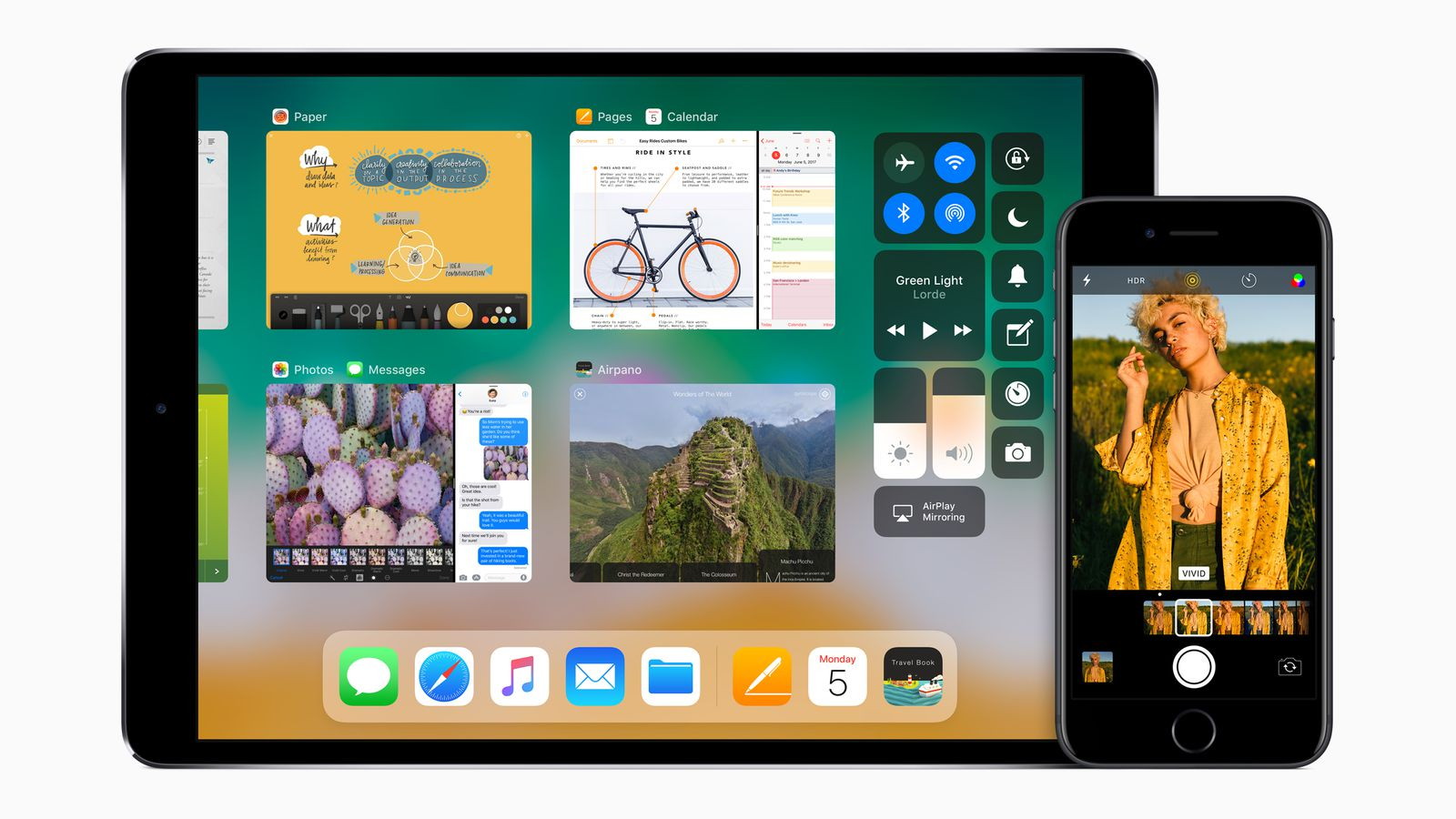 apple announces ios 11 with new features and better ipad