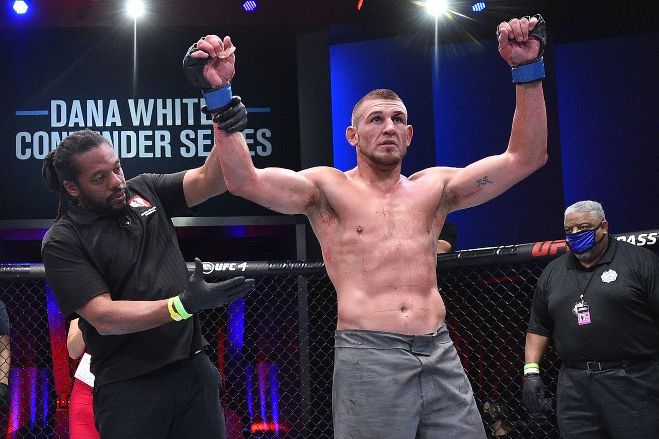 Dana White's Contender Series - Flores v Jacoby