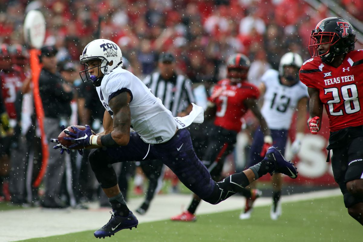 Tcu Vs Texas Tech Final Score With 3 Things To Know From The Horned Frogs 55 52 Win Sbnation Com