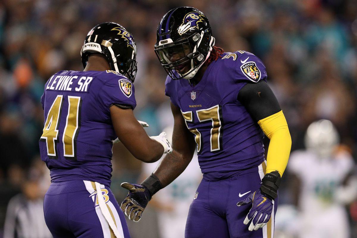 Half man, half amazing! C.J. Mosley extends the Ravens ... - photo#26