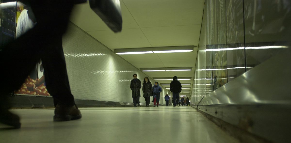 """The pedway under the Block 37 shopping center sits above a vacant """"superstation"""" that was intended to be used for an express train to O'Hare International Airport. Mayor Rahm Emanuel on Thursday vowed to get that train up and running, but it won;t use the"""
