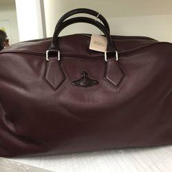 Bordeaux weekender bag, $450 (was $900)