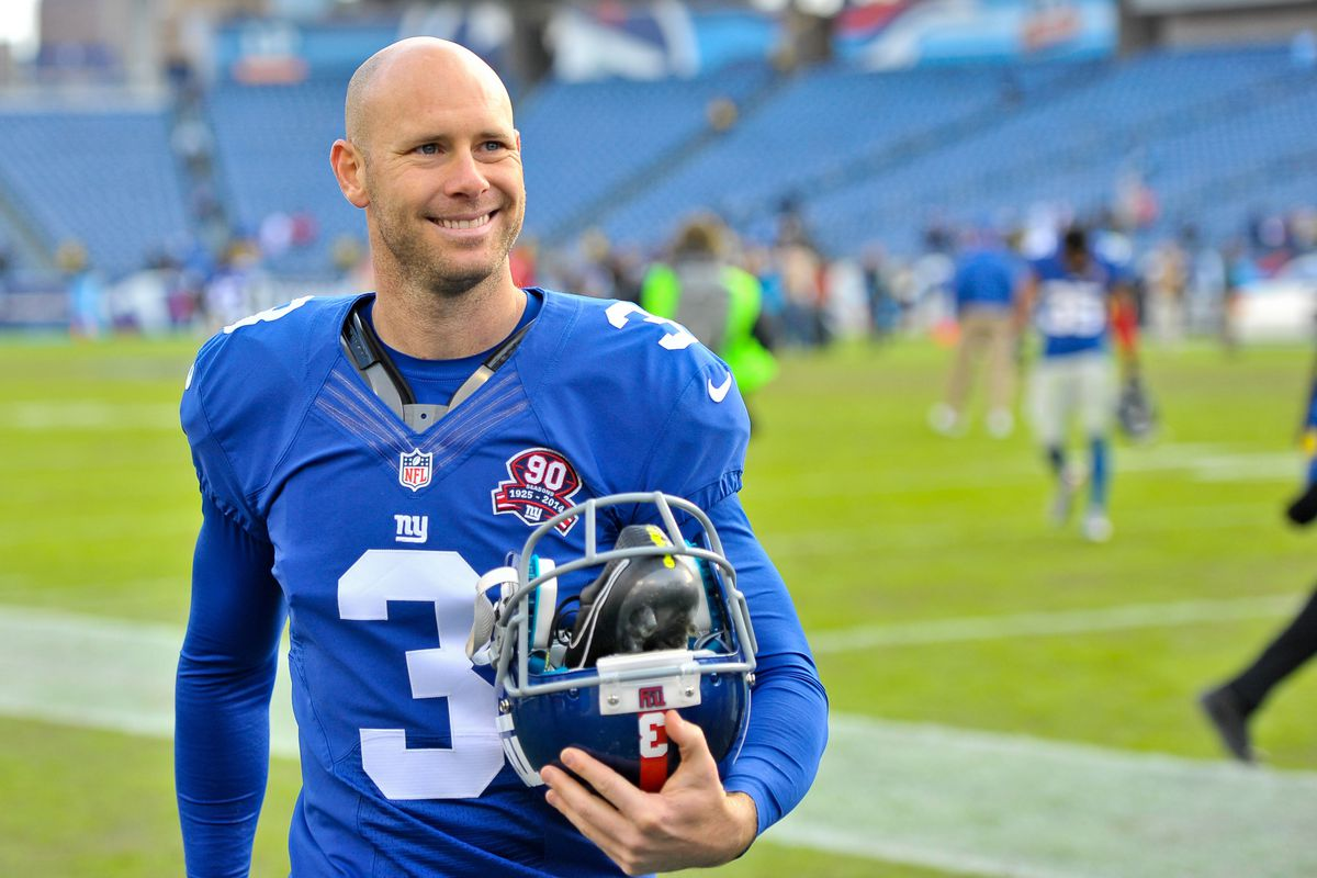 Josh Brown had reason to smile in 2014 as he had an excellent season.