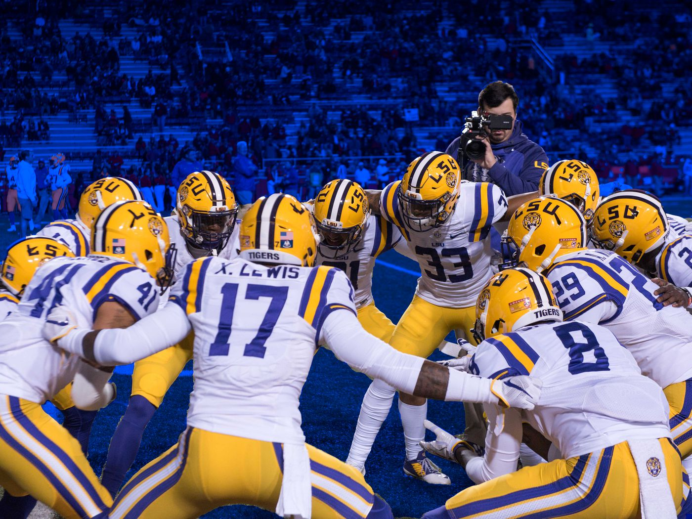 Lsu Football Hype Videos Are Amazing Here S How They Get Made Banner Society