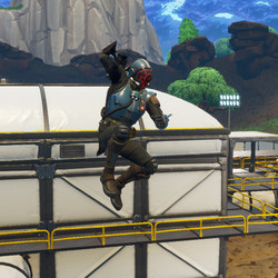 The Visitor skin in action