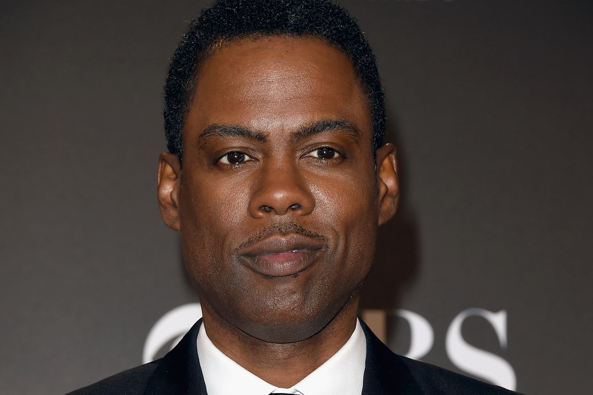 Chris rock at an awards ceremony in november
