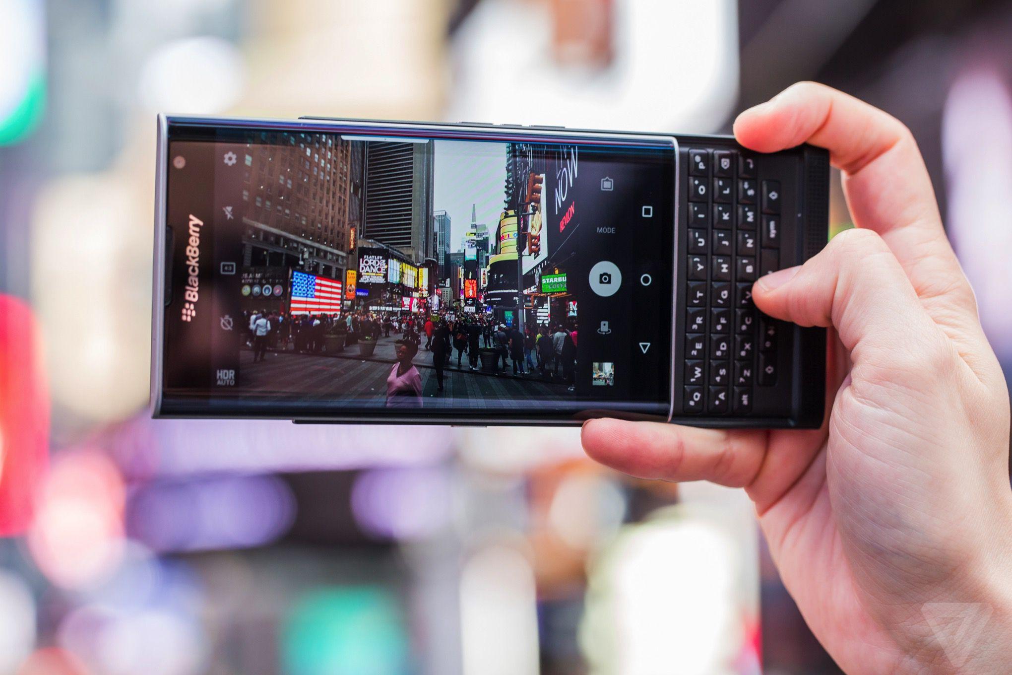 BlackBerry Priv review | The Verge