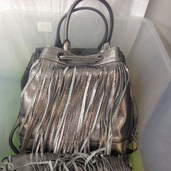 Fringe bag, $49