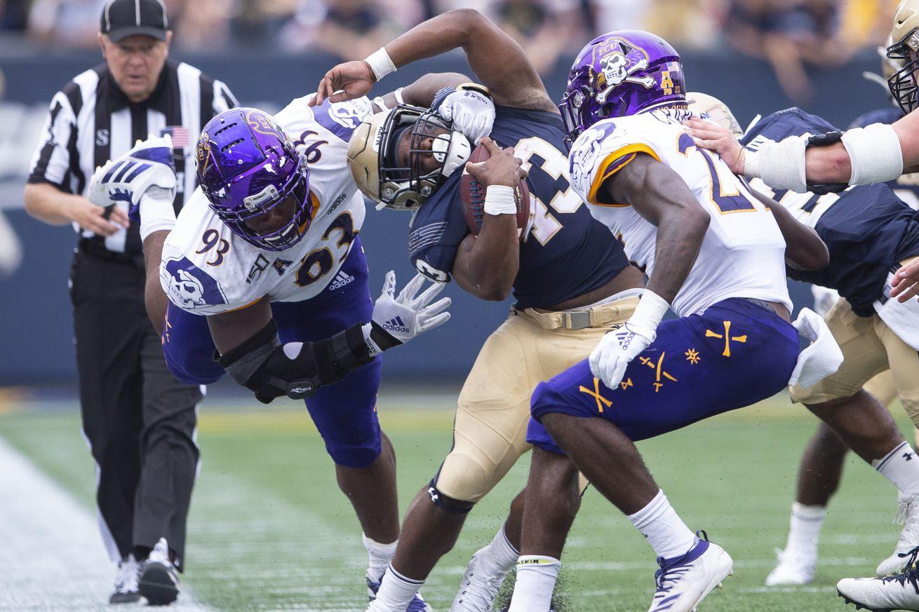 NCAA Football: East Carolina at Navy