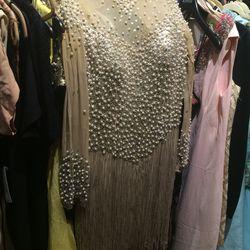 Beaded dress, $248