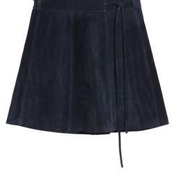 Suede skirt, $245
