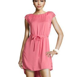 """<a href=""""http://www.hm.com/us/product/01005?article=01005-A#&campaignType=K&shopOrigin=QL"""">Pink dress with tie</a>, $29.95"""