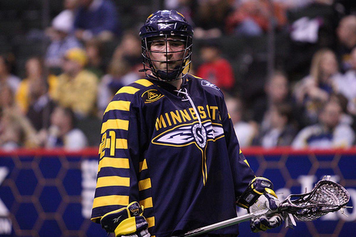 Ryan Benesch is an all-star forward for the Minnesota Swarm. (Photo Credit: NLL)