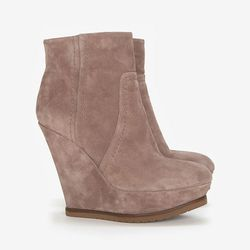 """<b>Pura Lopez</b> Wedge Ankle Booties, <a href=""""http://www.intermixonline.com/product/pura+lopez+wedge+ankle+booties.do?sortby=ourPicks&CurrentCat=106367"""">$485</a> at Intermix"""