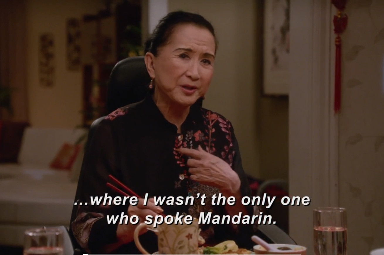 what fresh off the boat does with its mandarin speaker that the cloverfield paradox couldn t