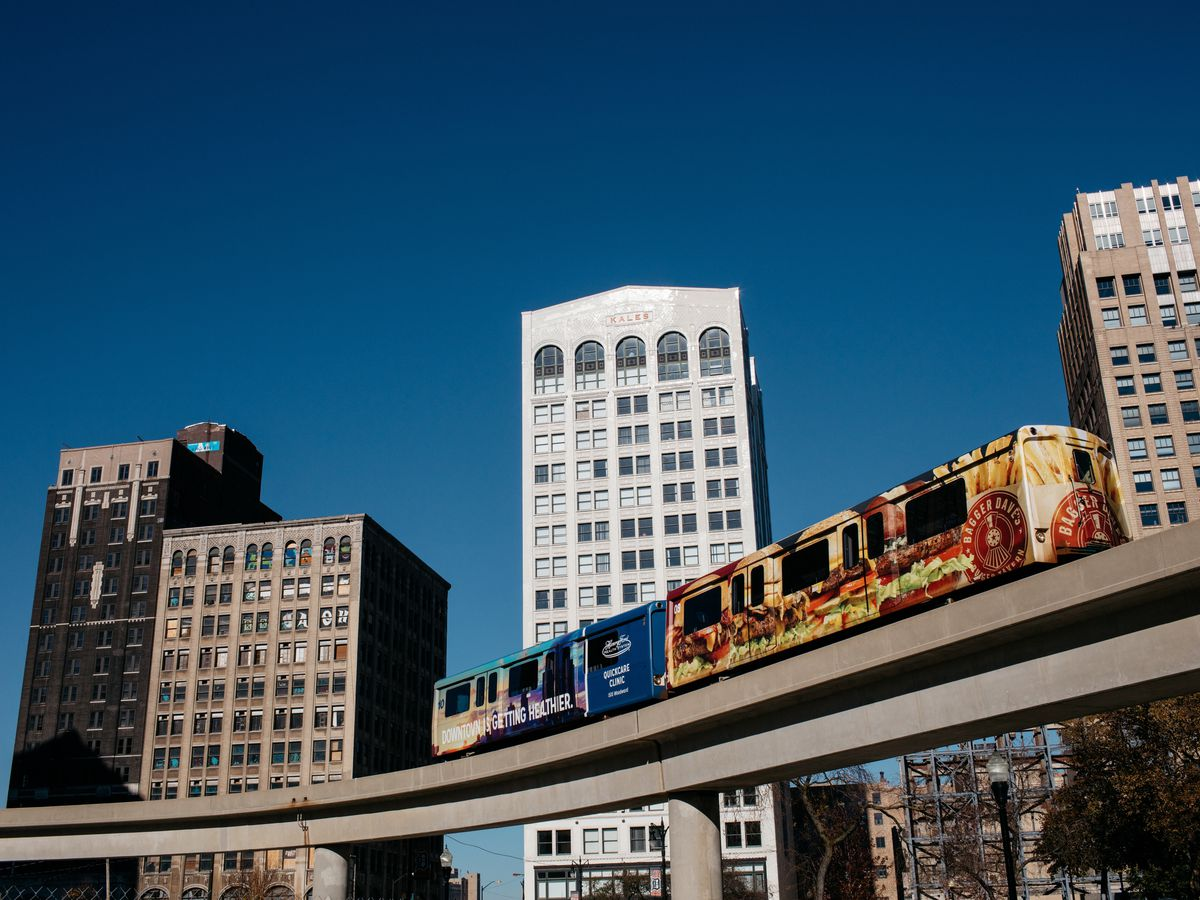 Where To Dine And Drink Near The Detroit People Mover
