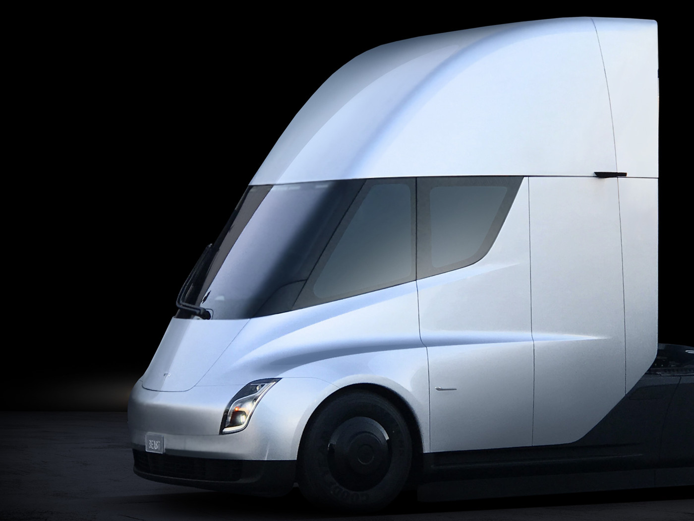 Tesla S Electric Semi Truck Elon Musk Unveils His New