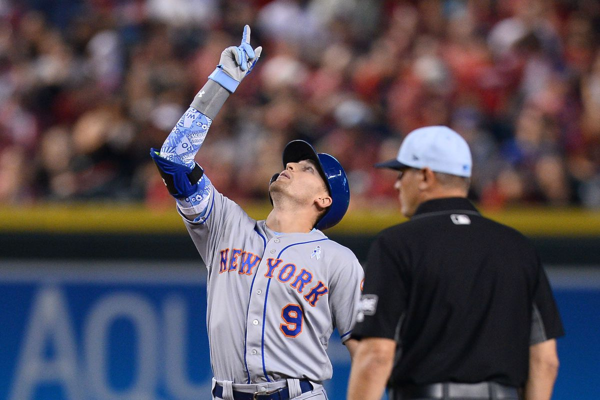 hot sale online 2b74c 1d4cb Mets 5, Diamondbacks 3 — Father's Day saved by ninth inning ...