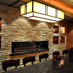Another view of the private dining room at McCall's Heartland Grill.