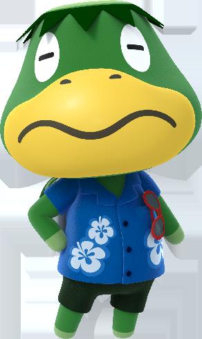 a bald turtle wearing a Hawaiian shirt