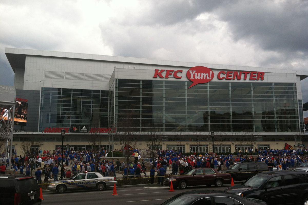 The KFC Yum! Center in Louisville, KY - PRESTEN NORTON/VTF