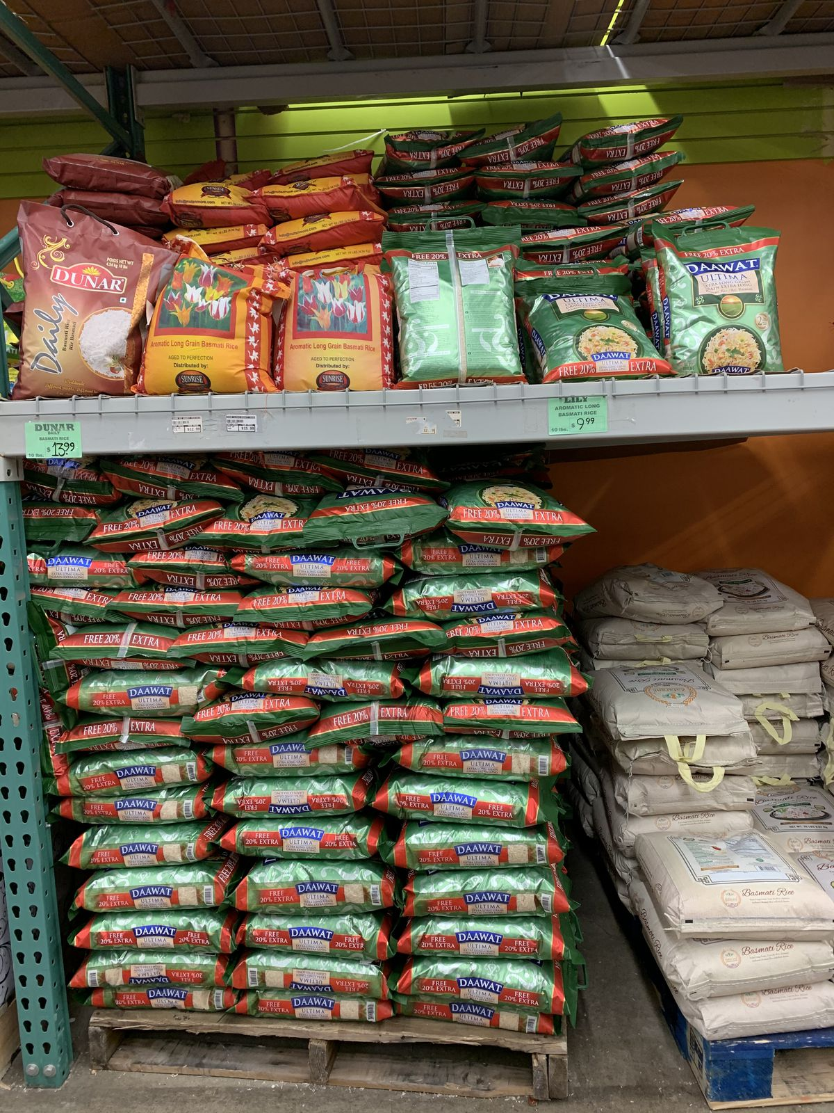 Rice at Man Pasand