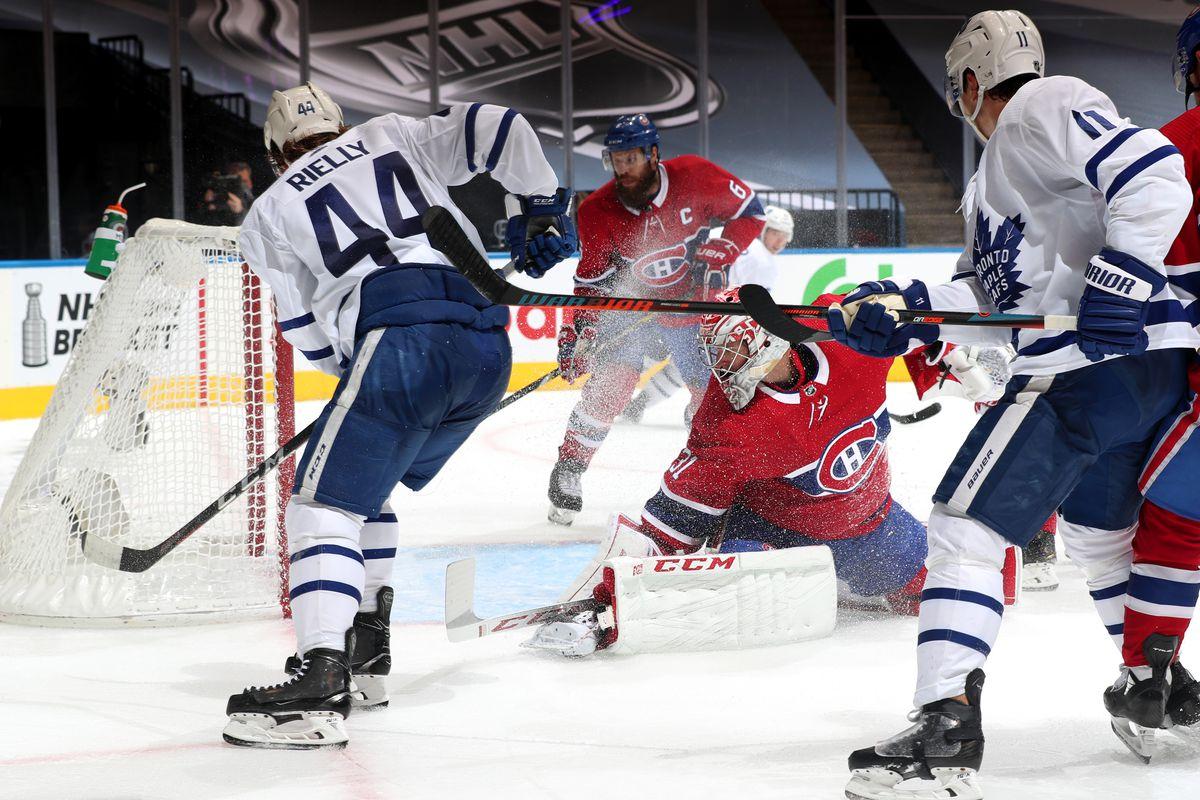 NHL: Exhibition-Toronto Maple Leafs vs Montreal Canadiens
