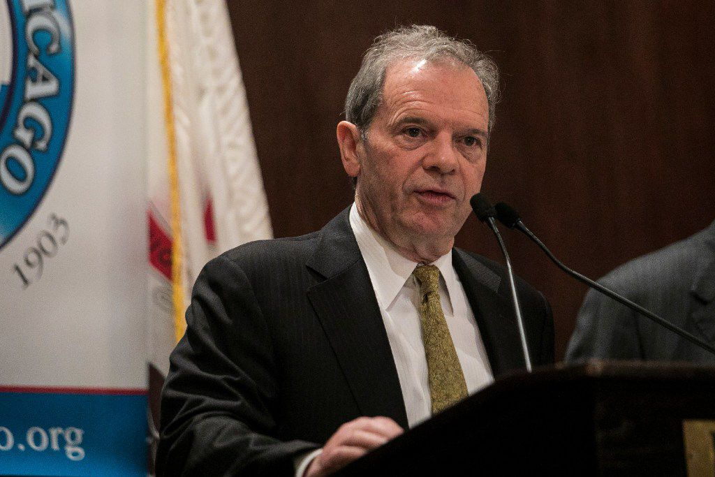 Illinois Senate President John Cullerton, D-Chicago, introduced the Illinois Jobs Now! bill. It passed the General Assembly with strong bipartisan support. | Ashlee Rezin / Sun-Times