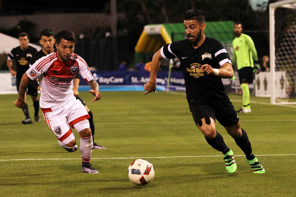 MLS: Preseason-D.C. United vs Tampa Bay Rowdies